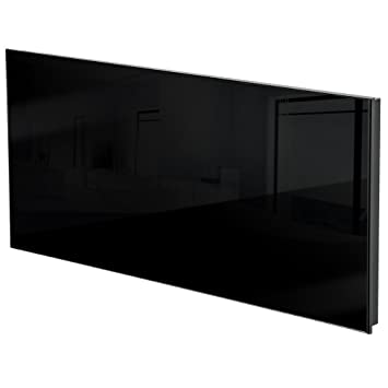 TecTake Calefacción por infrarrojos con vidrio ¡Incluye soporte de pared! - diverses modèles -