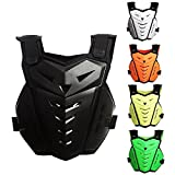 FidgetFidget Motorcycle Body Armor Back&Chest Protective Jacket Vest Skating Protection Guard