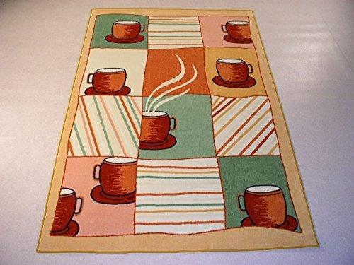 Orientbazar24 Tassen Becher Kuchen Teppich Webteppich 240 X 160 Cm