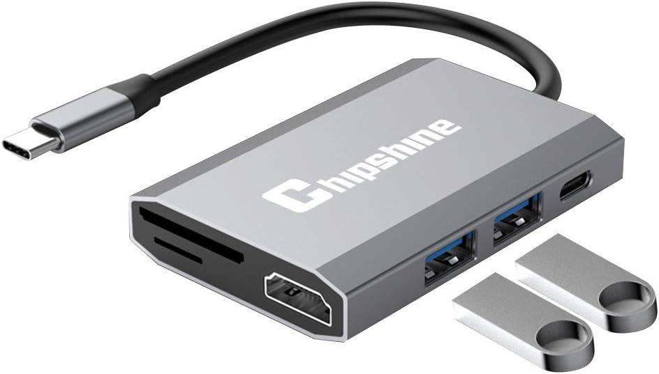 ZMKK USB Type-C Series USB HUB for MacBook 12 inch//Chromebook Pixel 2015