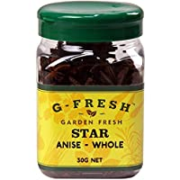 G-Fresh Star Anise (Whole), 30 g