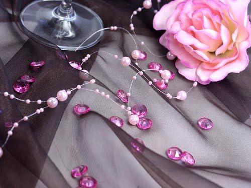 Sideso ® 1000 dekosteine diamants 0,6 cm 6 mm Décoration De Table Streudeko Mariage Deco
