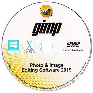 GIMP 2019 Photo Editor Premium Professional Image Editing Software for PC Windows 10 8.1 8 7 Vista XP, Mac OS X & Linux – Full Program & No Monthly Subscription!
