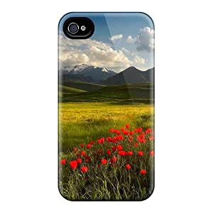 Mhc15058VVQi Snap On Cases Covers Skin Iphone 4/4S (poppies'corner)