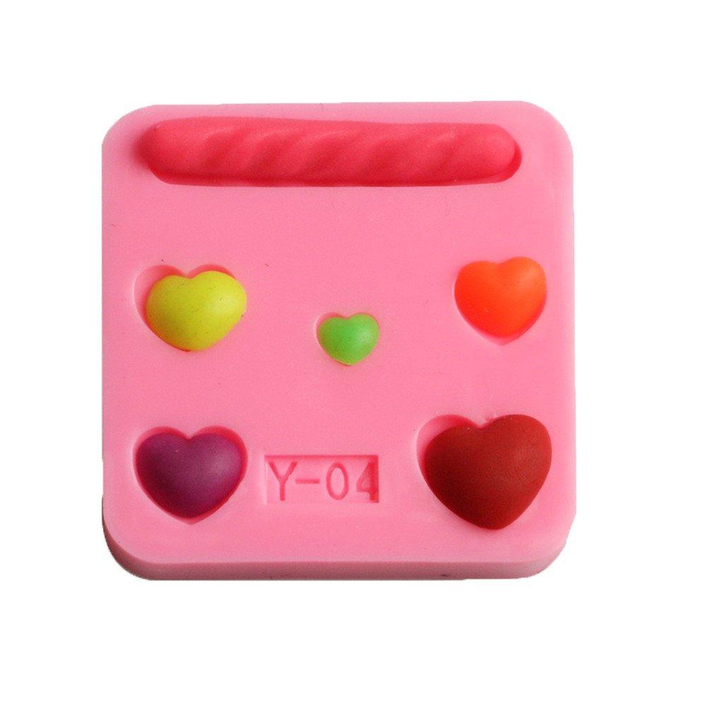 Cake Mold Decoratiing Kits- Chocolate,Pudding Maker by BeautyShe for Celebrating Party Birthday & Wedding