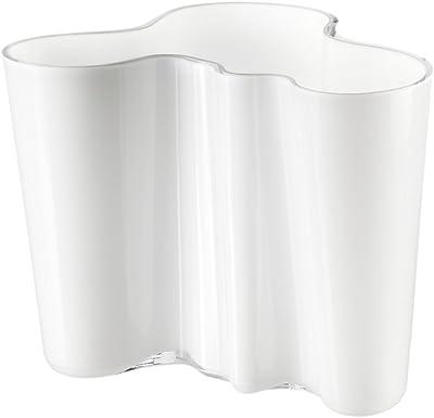 Iittala Vase, White Aalto Medium
