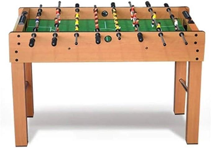MJ-Games Mesa de futbolín con 2 Unidades de puntuación 2 Bolas ...