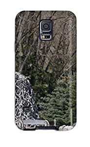New Style 7891765K20657537 Faddish Phone Antler Arch Case For Galaxy S5 / Perfect Case Cover