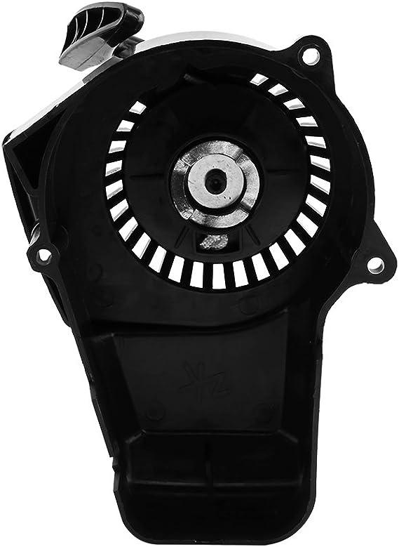motocicleta Mini Pull Start Igniter 47 49 cc Aire enfriado 2 tiempos negro