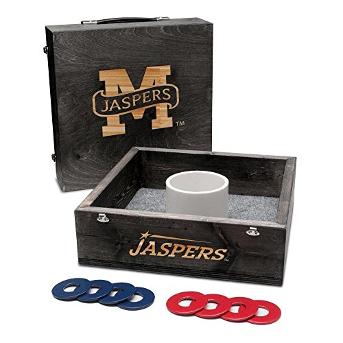 Victory Tailgate Manhattan College Jaspers Washer Game Set Onyx ()