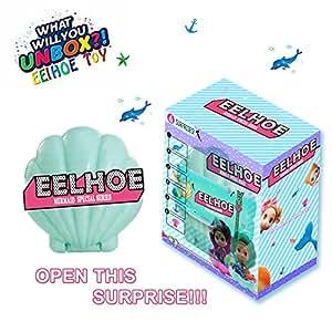EELHOE Surprise Shell Dolls Marine Series Confetti Pop Special Limited Edition Dolls 2018 Marvelous Marine Mini Biological Random Combination Accessories (Green)