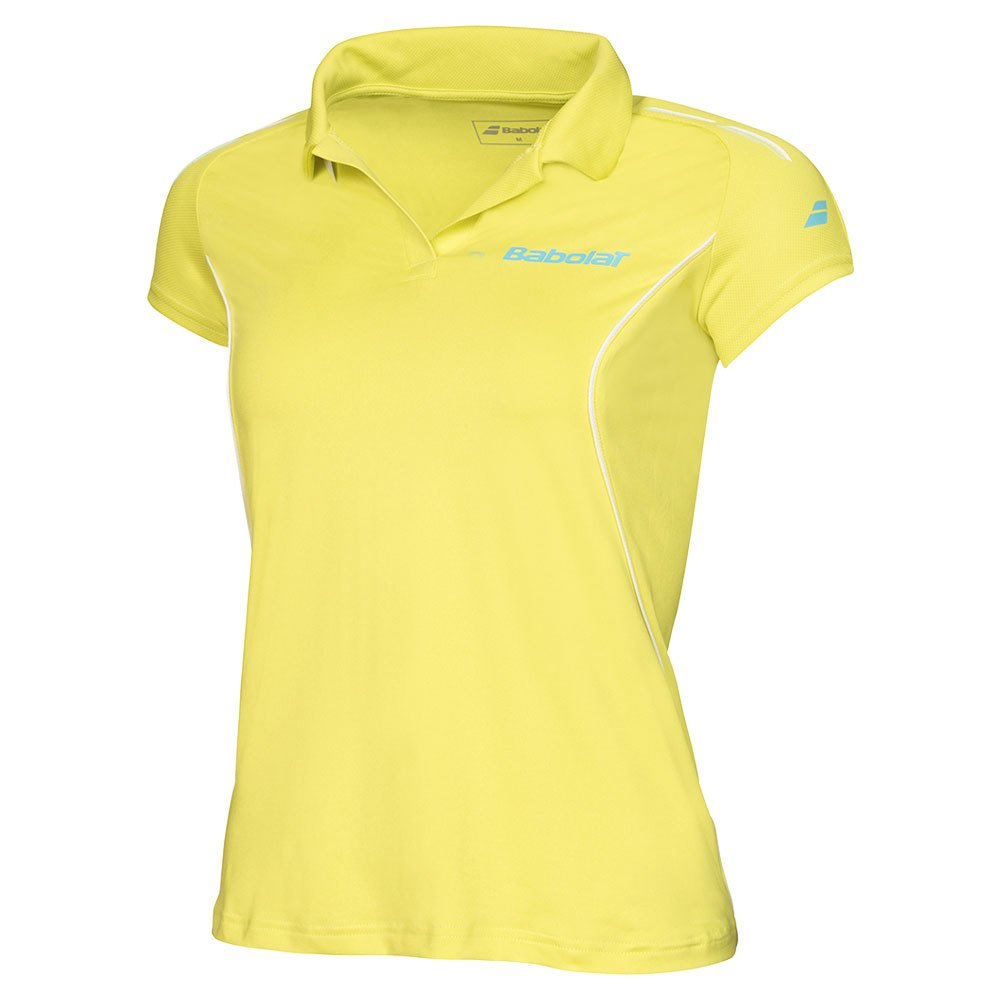 Babolat Mujer Oberbekleidung Match Core Polo, Mujer, Match Core Polo Women, Amarillo 41S1663Y-124
