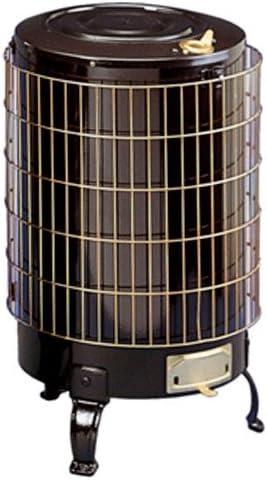 Theca 6500114 Estufa leña económica, con parrilla esmaltada, número 4, negro