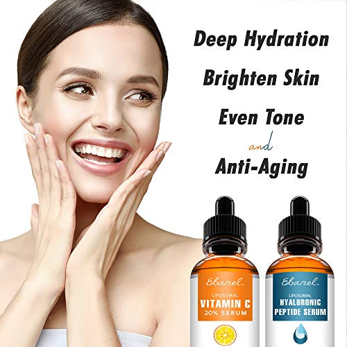 51LzQrF7gqL - Ebanel Vitamin C Serum Hyaluronic Acid Serum for Face - Ultimate Anti Aging Serum Set - Deep Hydrating, Visibly Plump, Firm & Smooth Skin, Brighten & Even Skin Tone, Reduce Redness & Inflammation