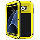 Samsung Galaxy S7 Case, CEStore® Dustproof/Shockproof/Anti-drop Anti-Screen 3 Layer Design Extreme Protection Phone Case for Galaxy S7, Perfect with Running Bicycle Climbing Outdoor Sports-Yellow
