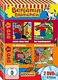 Benjamin Blümchen - Der kleine Hund/Das Regenbogenfest/Der Geheimgang/Die kleinen Schildkröten [2 DVDs]