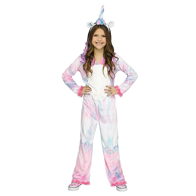 Fun World Magical Unicorn Costume, Small 4 6, Multicolor