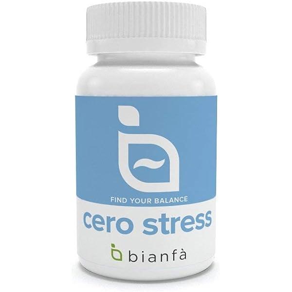 Cero stress. Melatonina + triptófano para un sueño ideal, de Bianfa: Amazon.es: Salud y cuidado personal