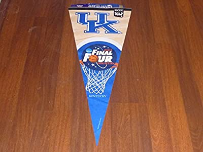 2011 Kentucky Final Four Basketball Giant Pennant Over 3 Feet Long