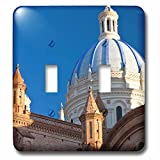 Danita Delimont - Cathedral - Cathedral of the Immaculate Conception, Cuenca, Ecuador - Light Switch Covers - double toggle switch (lsp_228817_2)