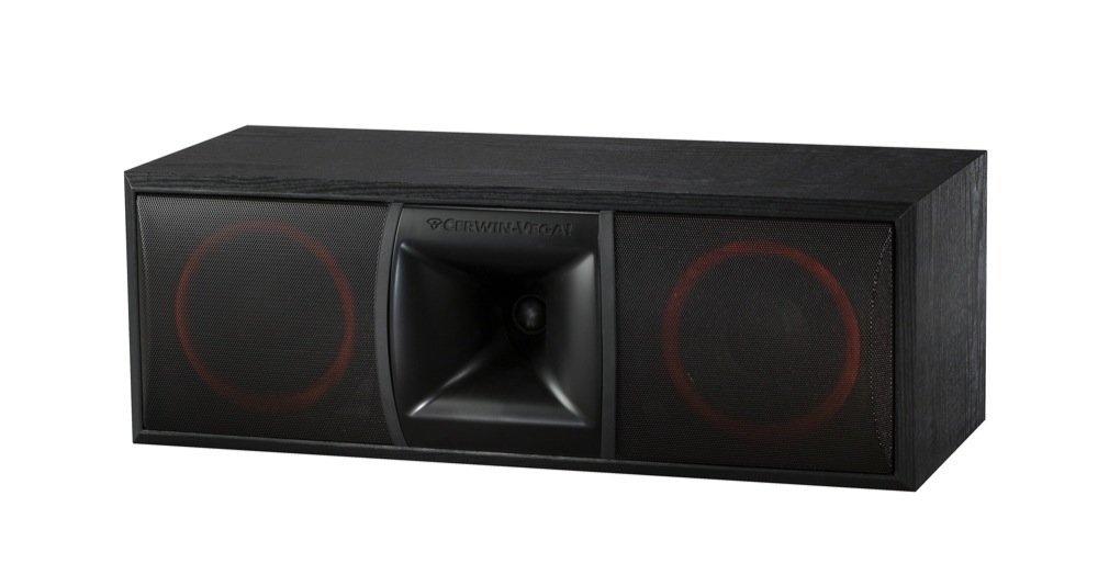 Cerwin-Vega XLS-6C 2-Way Home Audio Center Channel Speaker (Each, Black) by Cerwin-Vega