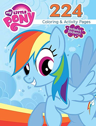 Bendon My Little Pony 224 Coloring & Activity Book Including Stickers