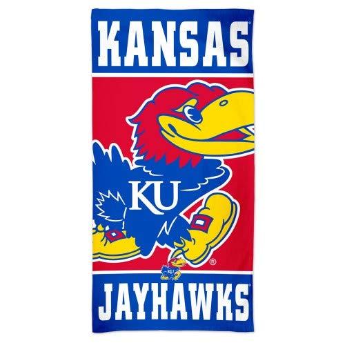 WinCraft Kansas Jayhawks Beach Towel - One - Blue