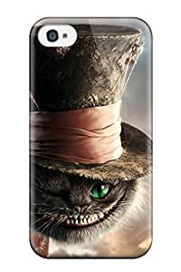 CrPxfzq7115INdVg Snap On Case Cover Skin For Iphone 4/4s(cat In Alice In Wonderland)