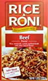 Rice A Roni Beef Flavor 6.8 oz (Pack of 24)