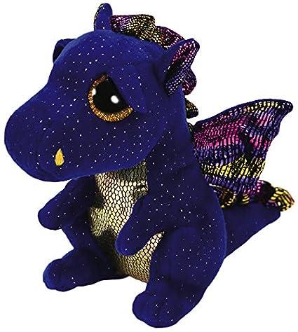 Amazon.com  Ty Beanie Boos - 36879 - Saffire The Dragon 15cm  Toys   Games bbe38e33ab0