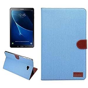 "Samsung Galaxy Tab A 10.1 Funda, Samsung Galaxy Tab A 10.1 Carcasa, FEING Funda para Tela Vaquera Denim Carcasa Bolso Sleeve para Samsung Galaxy Tab A 10.1"" T580 SM-T580/T585 - Azur, Incluso: Stylus x1 & Protector de pantalla x1 & Paño x1"