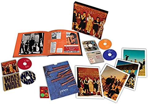 Laid / Wah Wah [4 CD Box Set] (James Laid Box Set)