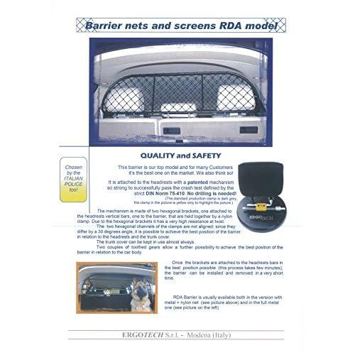 Grilles de séparation, sièges Animalerie Universal chiens grille trenngitter chiens grille de protection grille de protection grille bagages