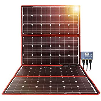 Amazon.com: DOKIO 300w Panel Solar Kit Mono Portátil ...