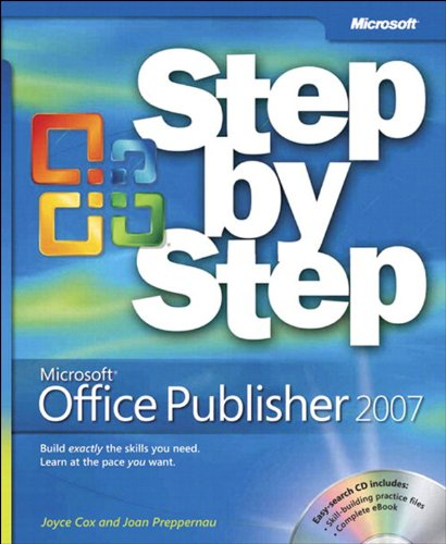 Microsoft Office Publisher 2007 Step by Step Pdf