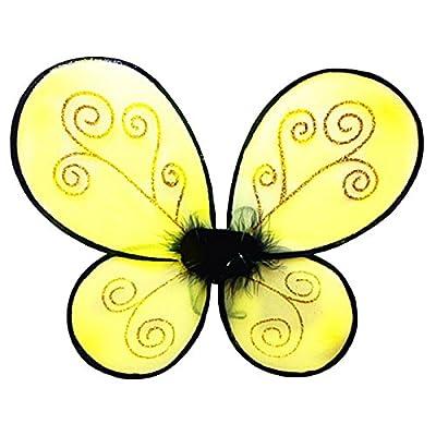 "WeGlow International WGI 22"" Yellow Bumble Bee Wing: Toys & Games"