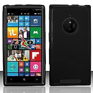 For Nokia Lumia 830 - TPU Cover - Black TPU
