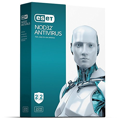 Eset Antivirus   2016  2 Pcs  2 Years  No Cd  Only Key Via Email