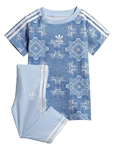 de Baby Set Adidas Culture manga camiseta White Originals Dress Clash Clear corta Multicolor Sky rwXqgXI0