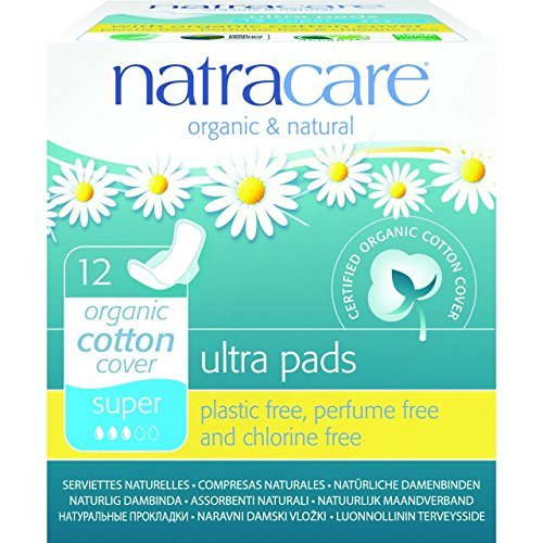(12 PACK) - Natracare - Ultra Pads Super with Wings | 12pieces | 12 PACK BUNDLE by Natracare