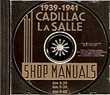 1939-1941 Cadillac & LaSalle CD-ROM Repair Shop Manual