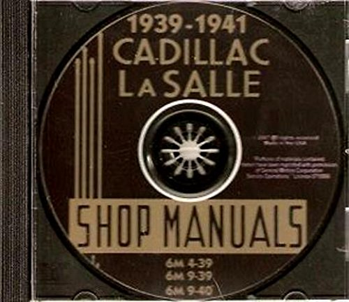 1940 Cadillac - 1939-1941 Cadillac & LaSalle CD-ROM Repair Shop Manual