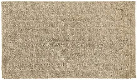 Amazon Basics Everyday Cotton Bath Rug, 17″ x 24″, Taupe