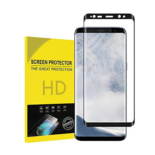For Galaxy S9 Plus Screen Protector, Penacase 3D Surface Full Screen [Case Friendly][9H Hardness][Bubble Free][Anti-Scratch] for Galaxy S9 Plus Tempered Glass Screen Protector