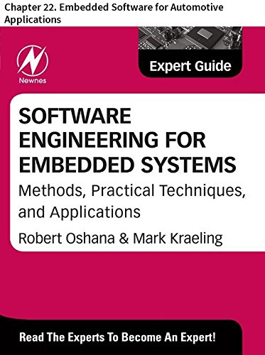 Software Engineering for Embedded Systems: Chapter 22. Embedded Software for Automotive Applications