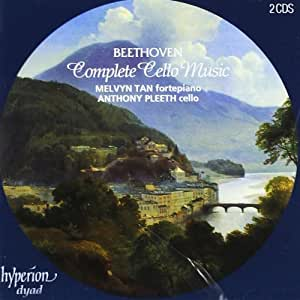 Beethoven: Complete Cello Music by Melvyn Tan (1996-10-01)