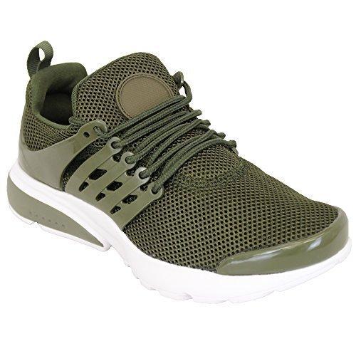 Décontractées Chaussures Femmes Lacet Maille Actif Gym Course Baskets Léger PORw84q