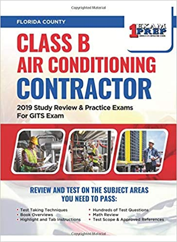 Florida Class B Air Conditioning Contractor: 2019 Study