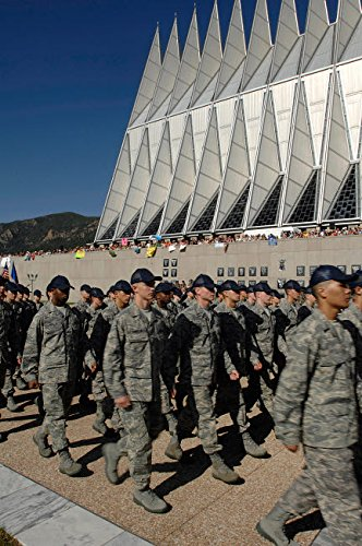 int Collection the Class of 2012 Marches in Front of the Cadet Chapel Stocktrek Images, (11 x 17), Multicolored ()