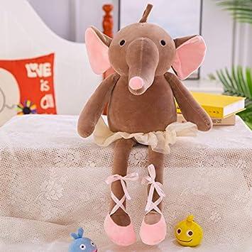 40 cm, Juguete suave, Elefante Muñeca creativa de pierna ...